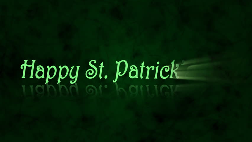 Happy St. Patrick's Day animation - 1080p