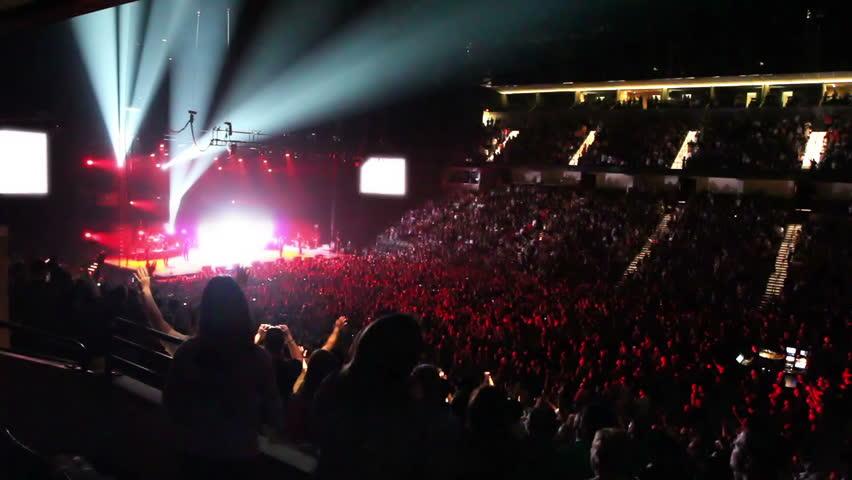 Rock Concert 2 - HD stock footage clip