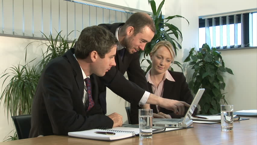 Business Meeting - HD stock footage clip