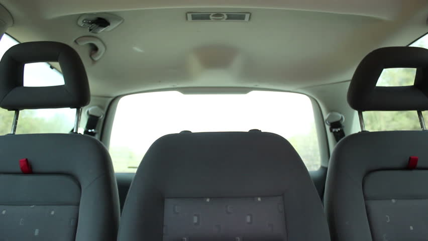 traveling by car back seats empty stock footage video 9711737 shutterstock. Black Bedroom Furniture Sets. Home Design Ideas