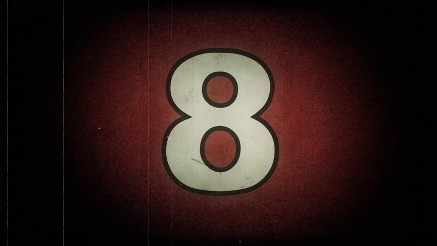 Old Reel countdown leader