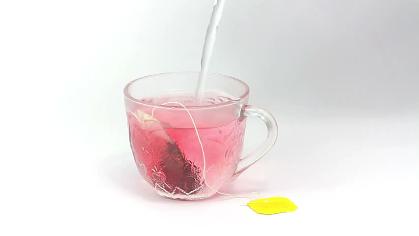 Place the teabag and pour just boiled water into the cup. Relax and enjoy your fruit tea! Preparing Tea No 1.