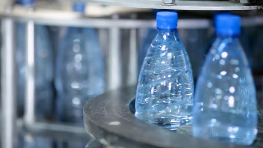 Water bottle factory   Shutterstock HD Video #999169